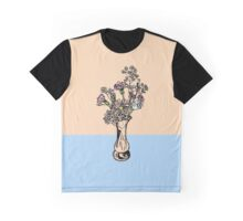 Wonky Flora 3 Graphic T-Shirt