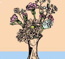 Wonky Flora 3 Sticker