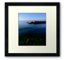 The Stone Pier..........France Framed Print