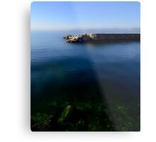 The Stone Pier..........France Metal Print