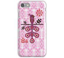 Peacock craft iPhone Case/Skin