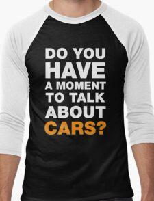 Talk About Cars Men's Baseball ¾ T-Shirt