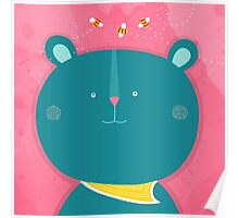 Bee my Bear Poster