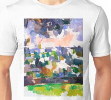1906 - Paul Cezanne - The Garden at Les Lauves Unisex T-Shirt