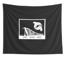 Night Raider -- Use Your Net -- WWII Wall Tapestry