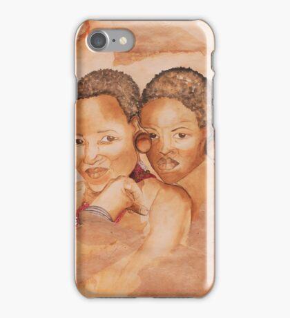 Zulu Girls iPhone Case/Skin