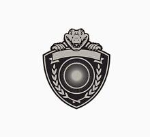 Gator Head Coat of Arms Retro Unisex T-Shirt