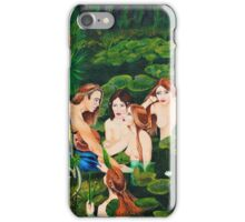 The sailor and the water nymphs iPhone Case/Skin