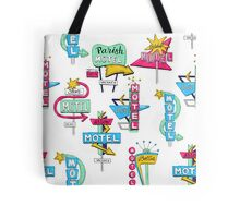 Motel signs Tote Bag