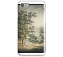 Samuel Alken Senior Landscape with Trees and a Low House iPhone Case/Skin