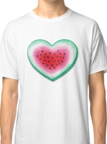 Summer Love - Watermelon Heart Classic T-Shirt