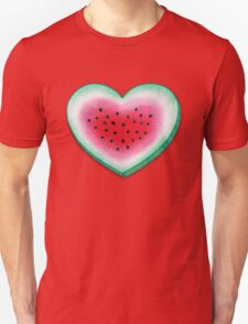Summer Love - Watermelon Heart Unisex T-Shirt