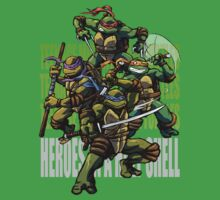 TURTLE POWER! Baby Tee