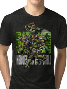 TURTLE POWER! Tri-blend T-Shirt