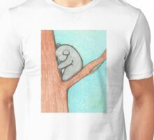 Sleepy Koala Unisex T-Shirt