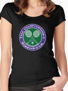 WIMBLEDOOM  Women's Fitted Scoop T-Shirt
