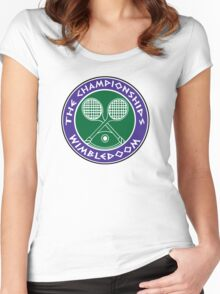 WIMBLEDOOM  Women's Fitted Scoop T-Shirt