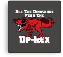 Dp-Rex Canvas Print