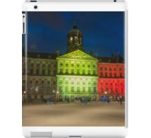 Palace on the Dam in colours of Belgian Tricolor iPad Case/Skin