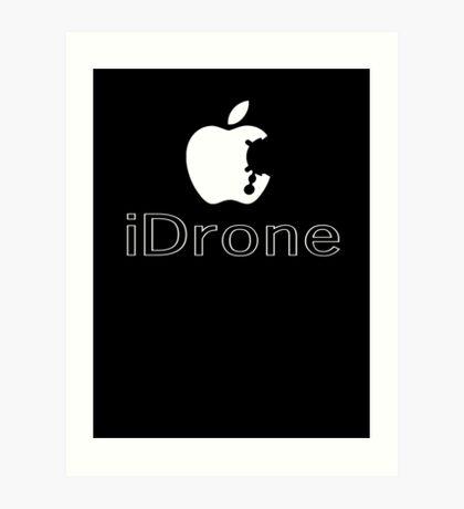 The iDrone Art Print
