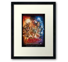 Kung Fury Poster Art Framed Print