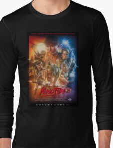 Kung Fury Poster Art Long Sleeve T-Shirt