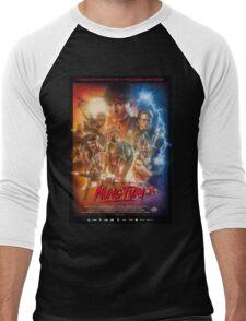 Kung Fury Poster Art Men's Baseball ¾ T-Shirt