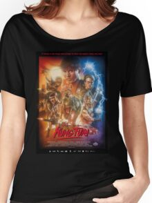 Kung Fury Poster Art Women's Relaxed Fit T-Shirt