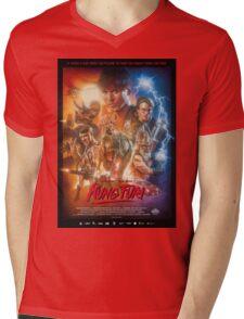 Kung Fury Poster Art Mens V-Neck T-Shirt