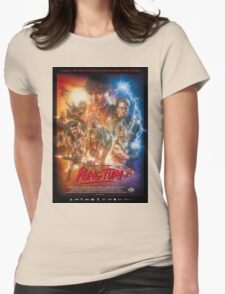 Kung Fury Poster Art Womens Fitted T-Shirt