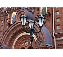 street lamp in the classical style Photographic Print
