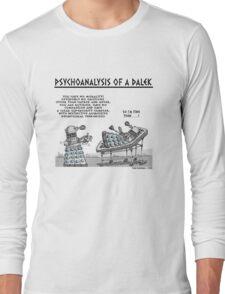 PSYCHOANALYSIS OF A DALEK Long Sleeve T-Shirt