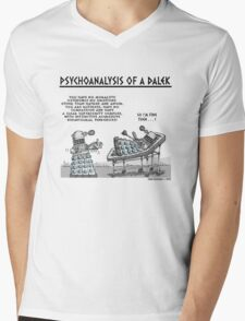 PSYCHOANALYSIS OF A DALEK Mens V-Neck T-Shirt