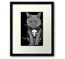 Cat comic Framed Print