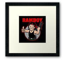Ramboy Framed Print