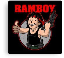 Ramboy Canvas Print
