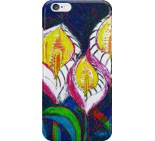 Transparent Lilies (original drawing) iPhone Case/Skin