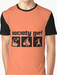 Society Girl Graphic T-Shirt