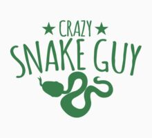 Crazy Snake Guy  Kids Tee