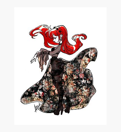 Flower Witch Photographic Print