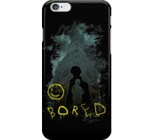 Bored :) iPhone Case/Skin