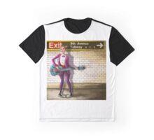 9th Avenue Subway Graphic T-Shirt