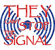 Serenity they cant stop the signal Photographic Print