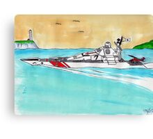 Coastal Patrol Canvas Print