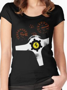analog supercar Women's Fitted Scoop T-Shirt