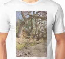 Exposed Roots At Low Tide Unisex T-Shirt