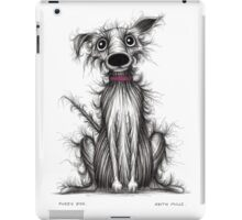 Fuzzy dog iPad Case/Skin