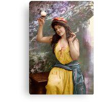 Colorized Fitz Guerin's Lady Liberine 1902 version II Metal Print