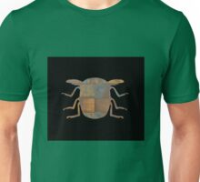 Insect Texture Outline Black Unisex T-Shirt