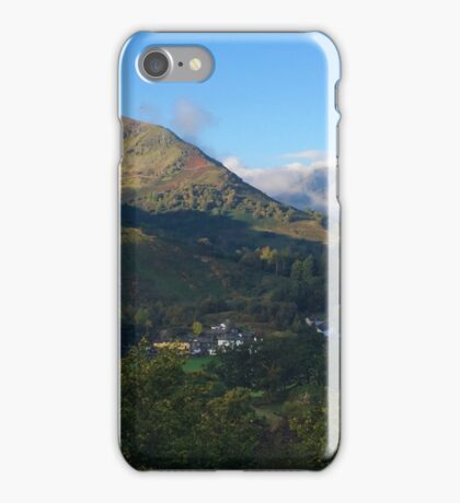 Patterdale Fells in the Lake District National Park, UK iPhone Case/Skin